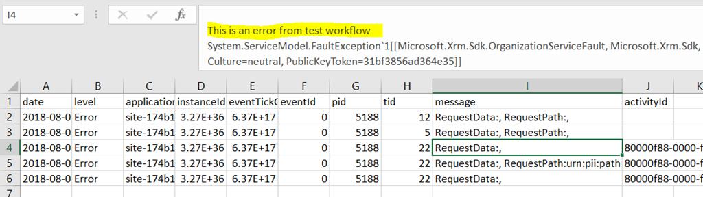 Error logging for Microsoft Dynamics Portals | It Ain't Boring